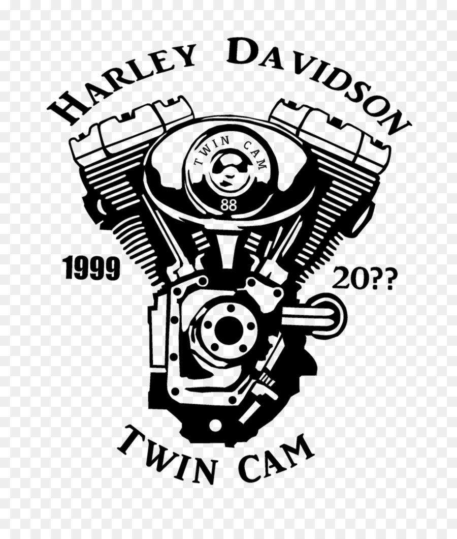 Biểu Tượng Thương Mabua Harley-Davidson Trắng