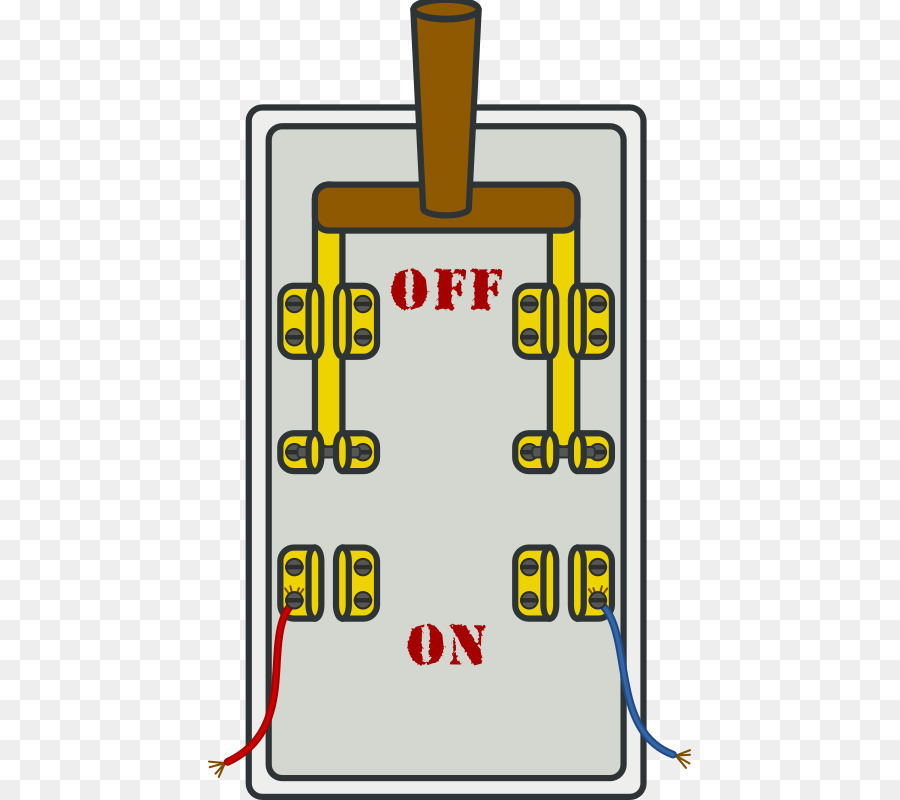 wiring diagram for latching relay how to draw a timing circuit knife switch electrical switches clip art