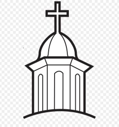 first united methodist church henrietta christian church clip art church 516 900 transprent png free download black and white structure line  [ 900 x 900 Pixel ]