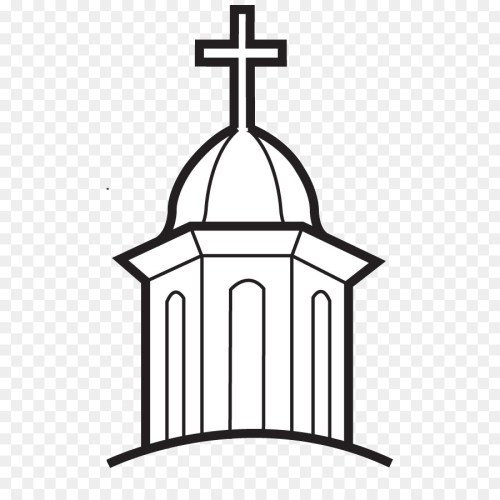 small resolution of first united methodist church henrietta christian church clip art church 516 900 transprent png free download black and white structure line