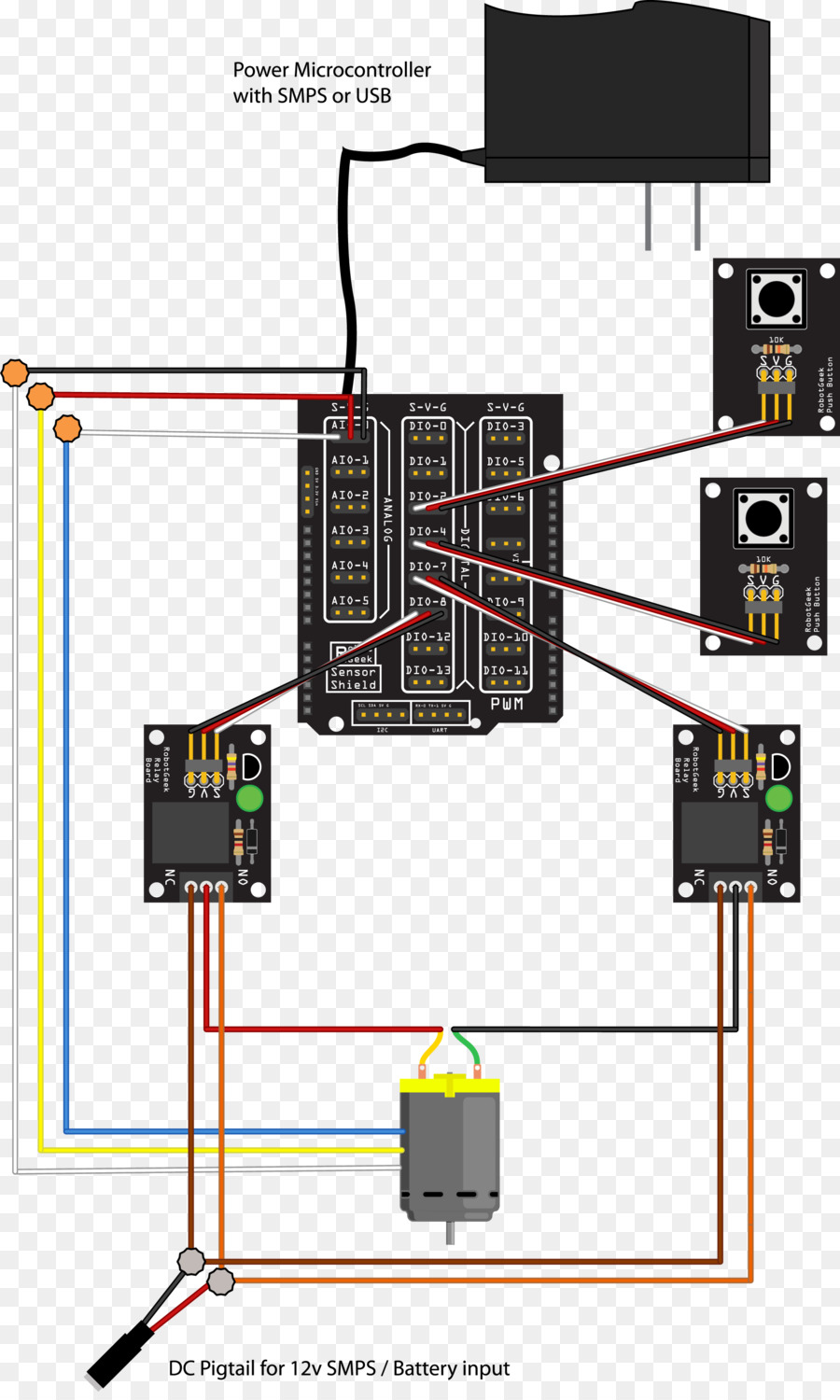 hight resolution of linear actuator arduino wiring diagram relay others png download rh kisspng com bldc linear actuator wiring