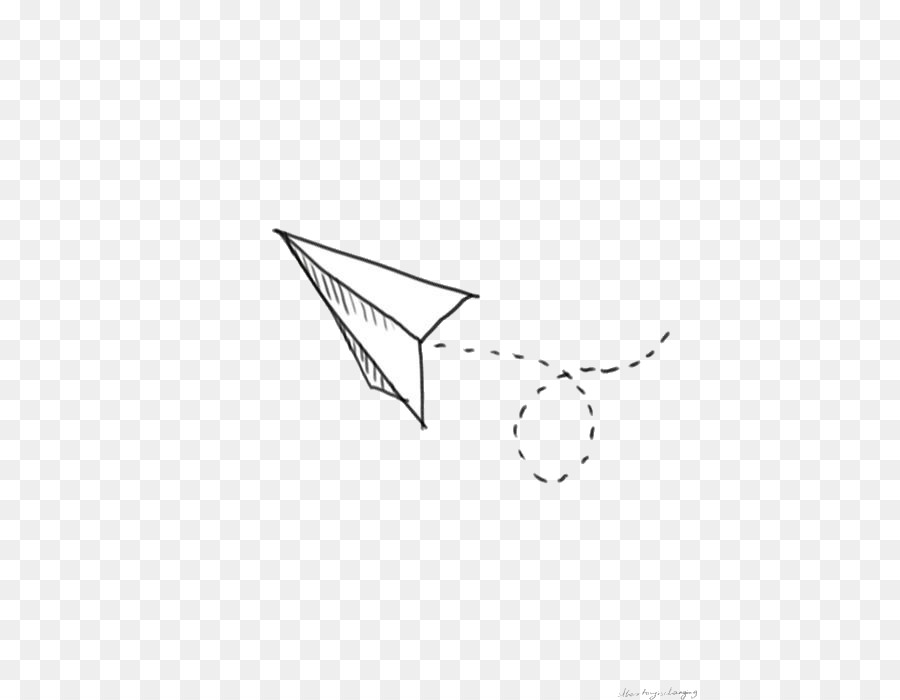 paper airplane drawing png