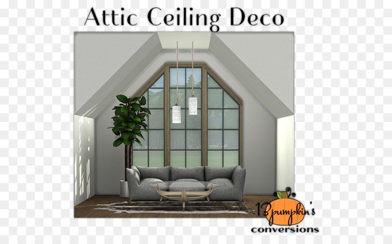 The Sims 4 3 Mysims Ceiling Window
