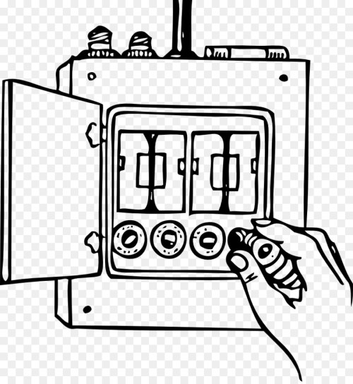 small resolution of fuse wiring diagram diagram white black and white png