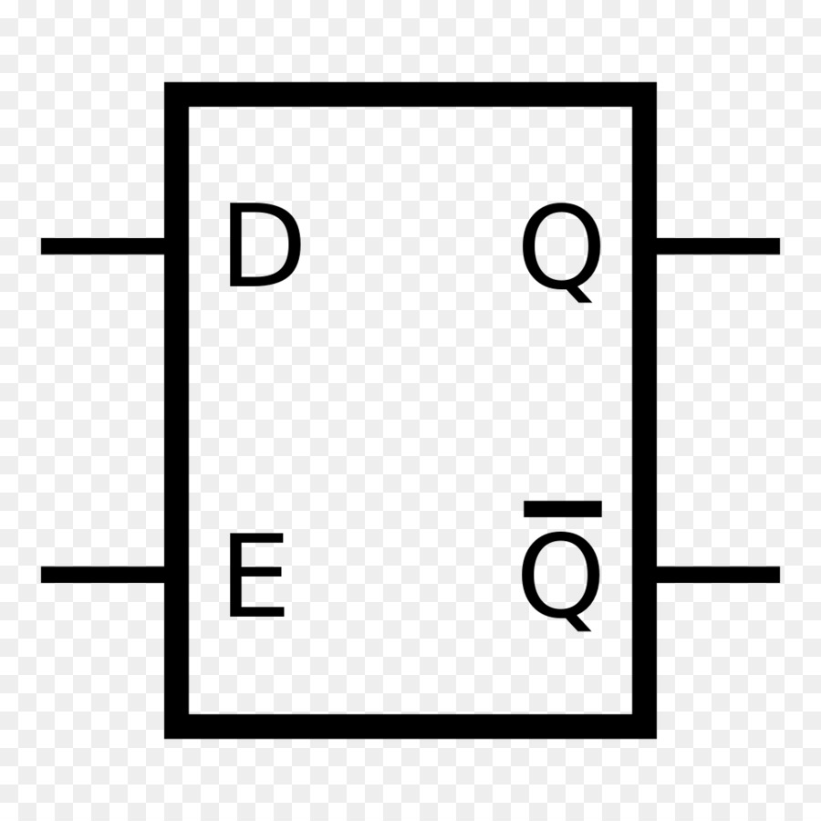 hight resolution of flipflop electronic circuit circuito sequencial white black png