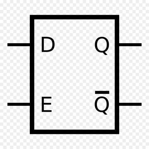 small resolution of flipflop electronic circuit circuito sequencial white black png