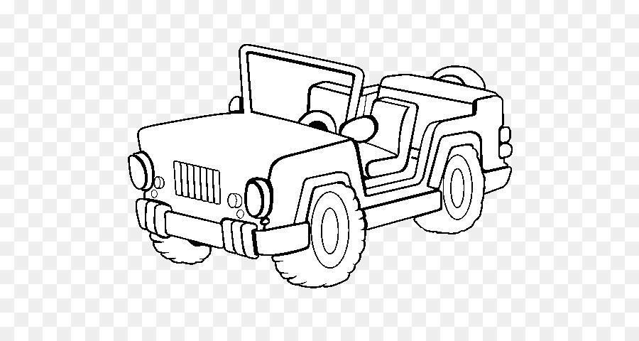 Ausmalbilder Jeep Kostenlos