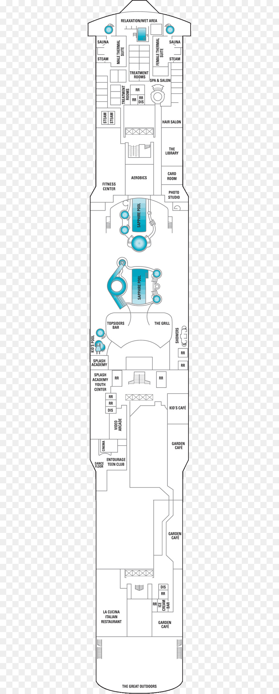 medium resolution of norwegian cruise line cruise ship ship floor plan text png