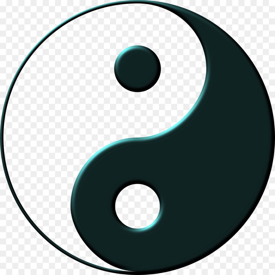 Yin And Yang Stencil Tattoo Art Symbol Yin Yan Dragon Png Download