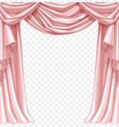 window curtain theater drapes and stage curtains pink interior design png [ 900 x 880 Pixel ]