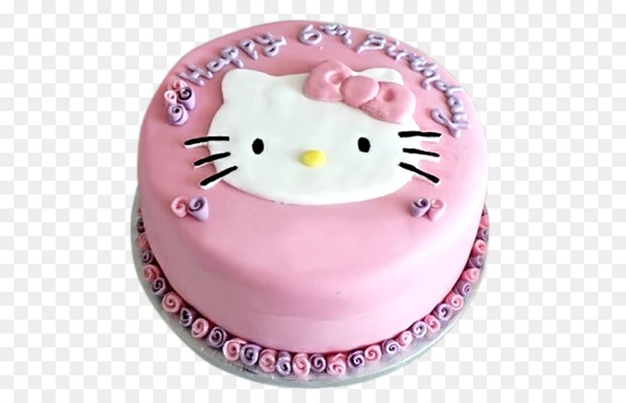 Birthday Cake Hello Kitty Cake Decorating Birthday Png Download