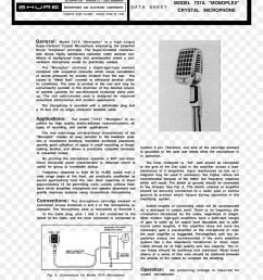 microphone wiring diagram shure 577b shure sm58 [ 900 x 1040 Pixel ]
