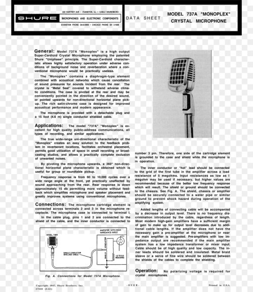 small resolution of microphone wiring diagram shure 577b shure sm58
