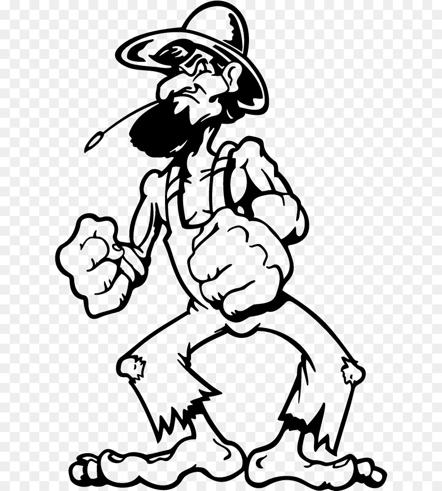 hight resolution of hillbilly redneck decal white black png