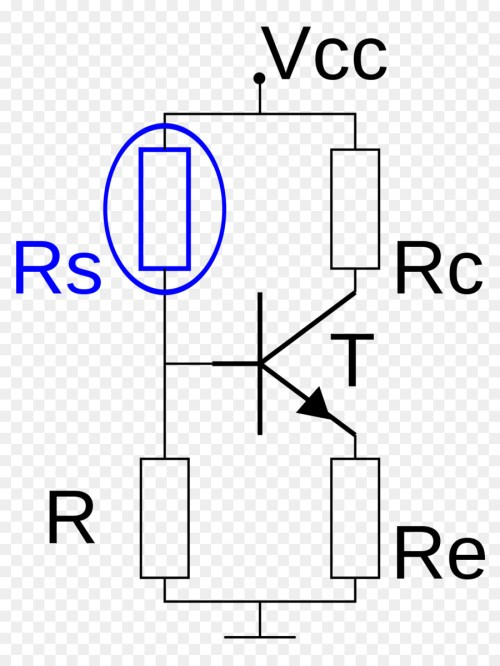 small resolution of sensistor resistor thermistor white text png