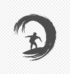 logo surfing silhouette black png [ 900 x 900 Pixel ]