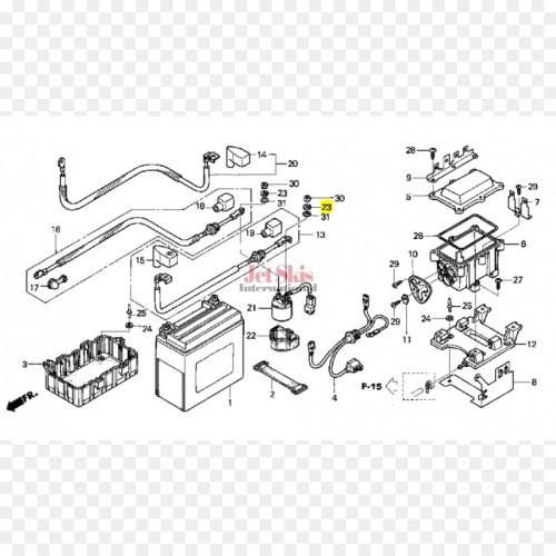 small resolution of honda honda rincon wiring diagram auto part line png