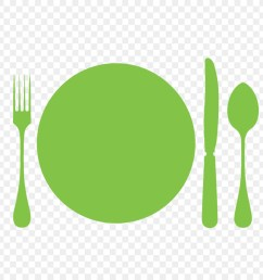 fork spoon cutlery green png [ 900 x 900 Pixel ]