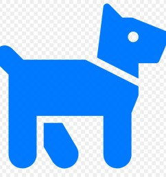 dog computer icons canidae blue text png [ 900 x 900 Pixel ]