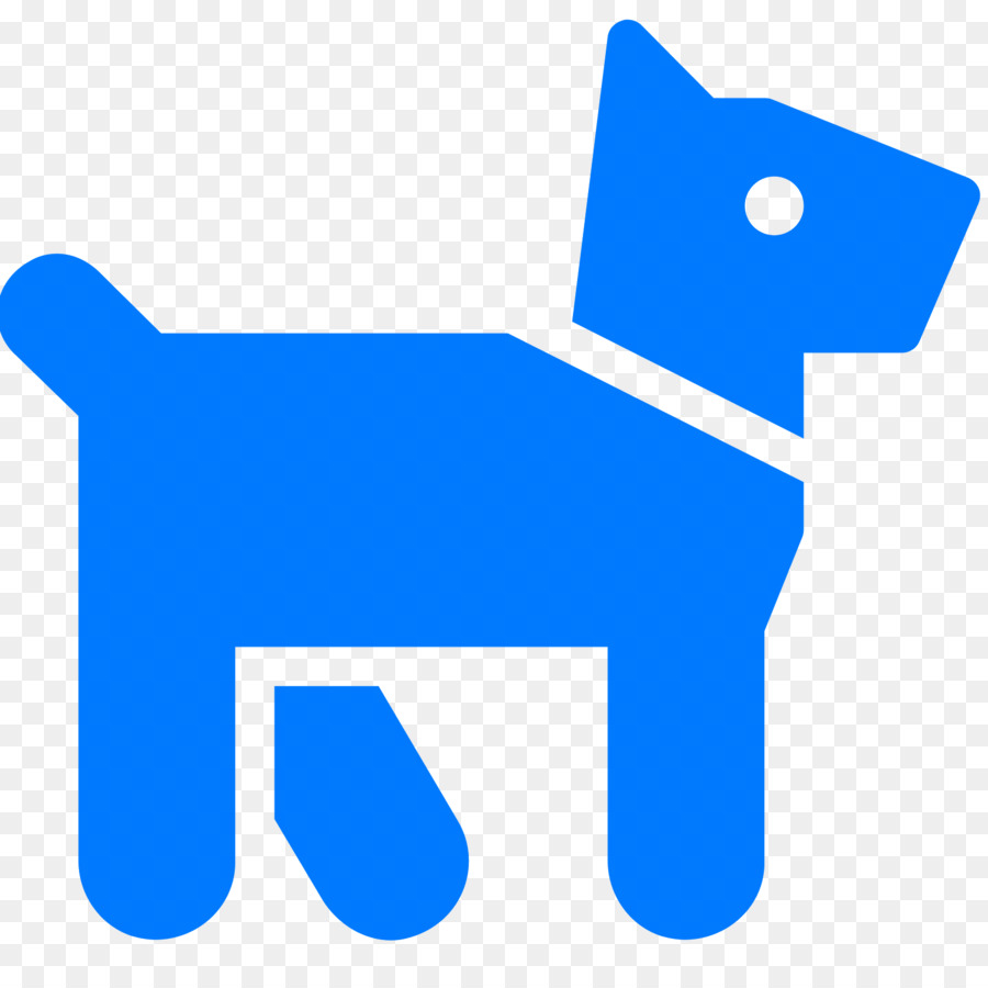 hight resolution of dog computer icons canidae blue text png