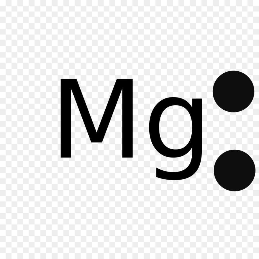hight resolution of lewis structure magnesium electron text logo png