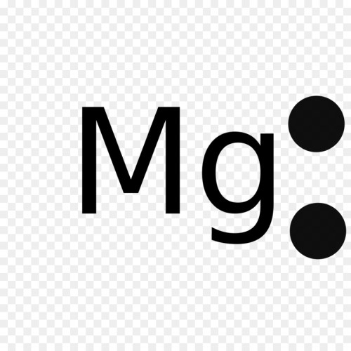 small resolution of lewis structure magnesium electron text logo png