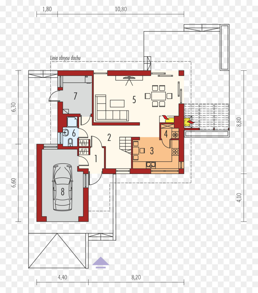hight resolution of floor plan house gable roof plan png