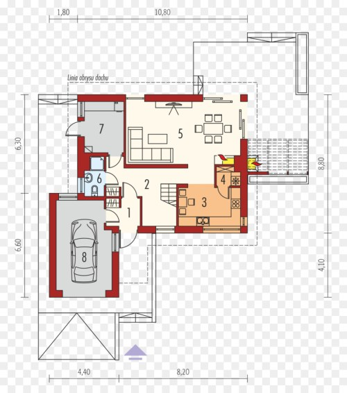 small resolution of floor plan house gable roof plan png