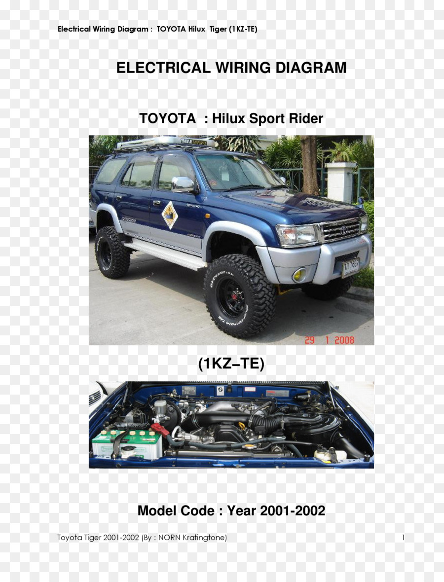 Electrical Wiring Diagram Toyota Hilux