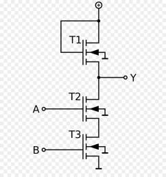 nmos logic nand gate mosfet text diagram png [ 900 x 1040 Pixel ]