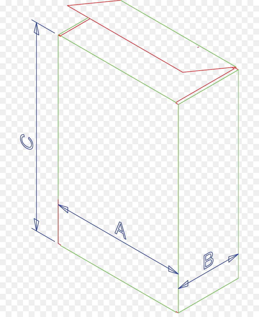 hight resolution of box length angle line area png