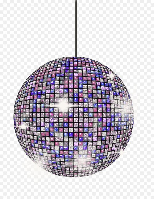 small resolution of disco ball disco drawing purple lighting png