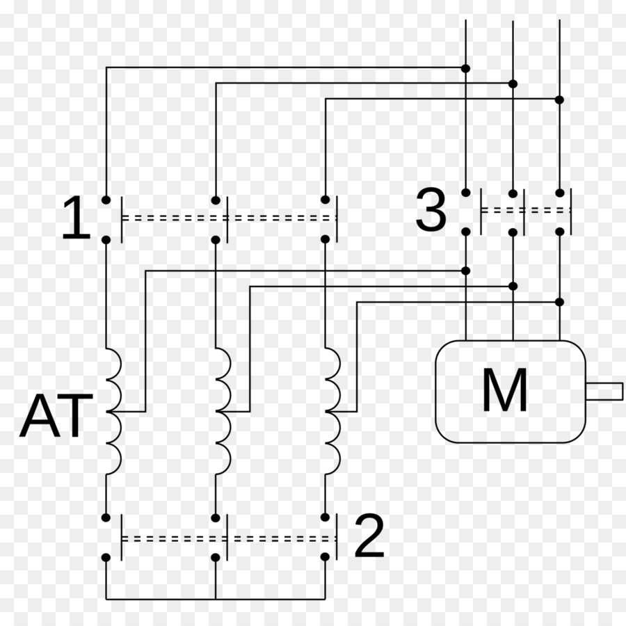 medium resolution of autotransformer kornd rfer autotransformer starter wiring diagram text diagram png