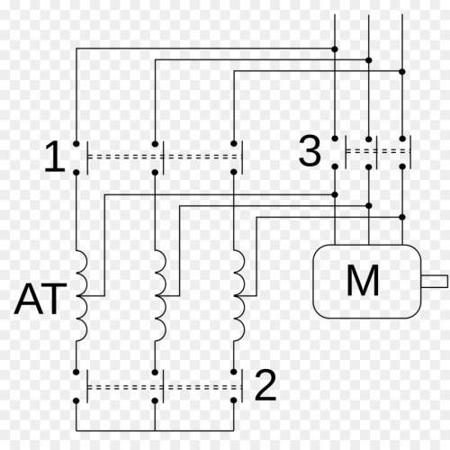 small resolution of autotransformer kornd rfer autotransformer starter wiring diagram text diagram png