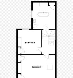 floor plan terenure house white black png [ 900 x 1360 Pixel ]