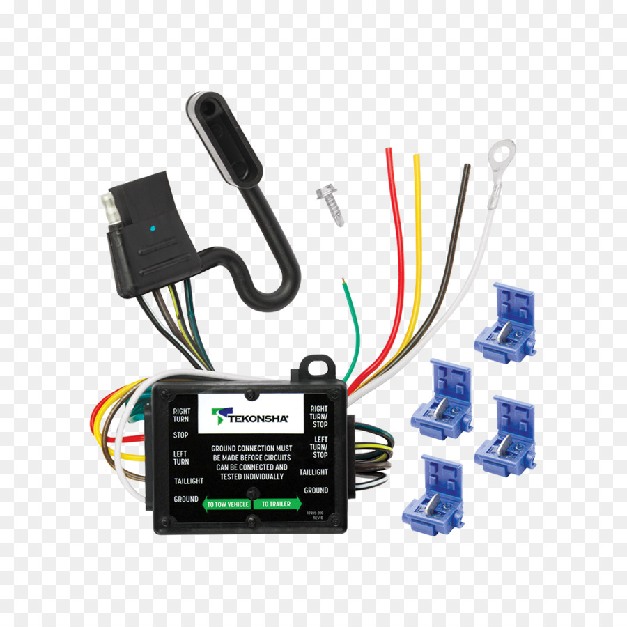 hight resolution of trailer light converter wiring diagram electrical wires cable electronics accessory technology png