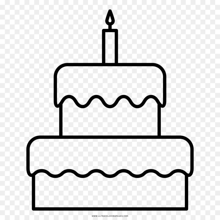 Birthday Cake Drawing Coloring Book Cake Png Download 10001000