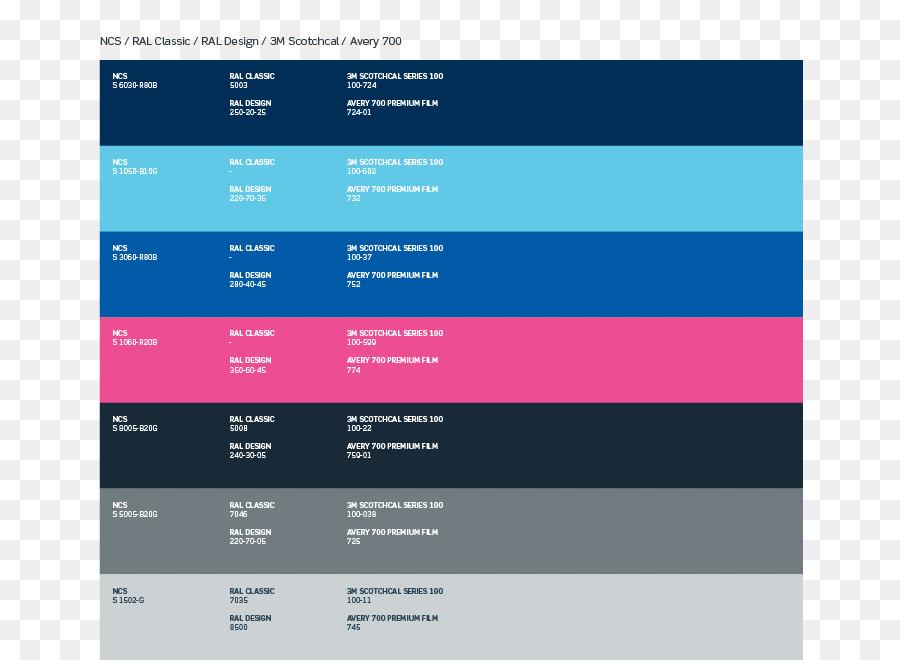 RAL colour standard Blue Color chart Pantone - paint png download ...