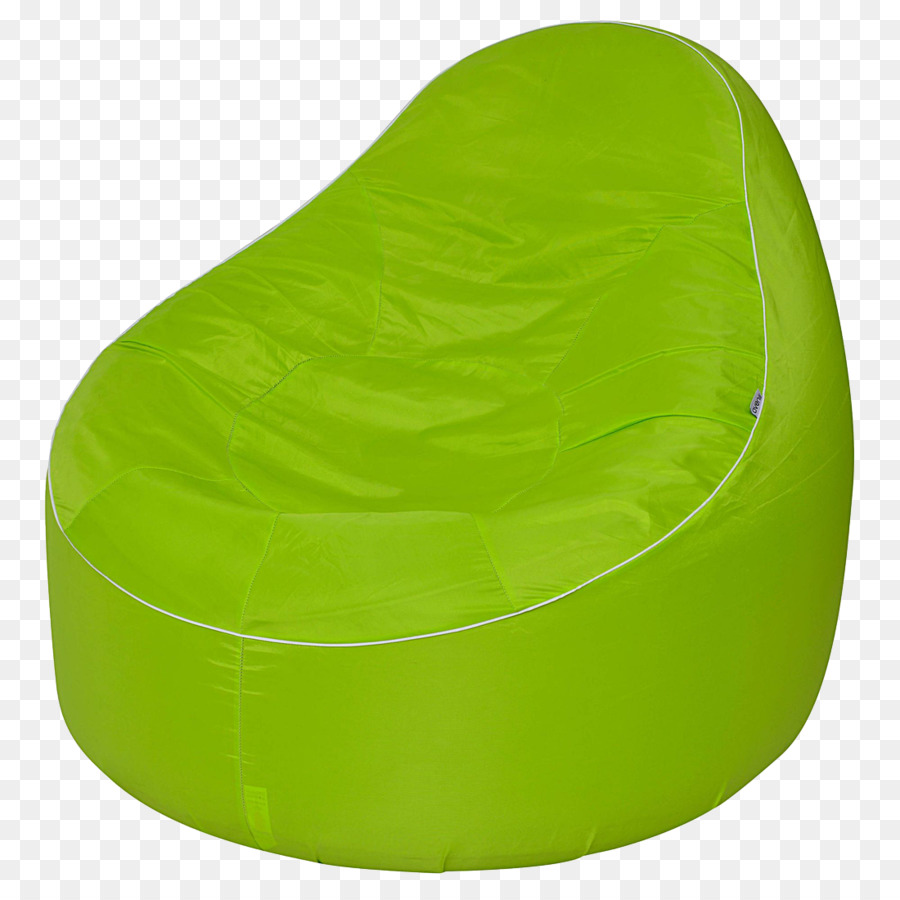 green bean bag chair 1970 kitchen table and chairs garden couch tuffet wing seat png download