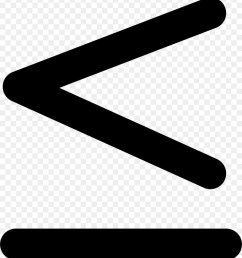 lessthan sign greaterthan sign symbol black and white line png [ 900 x 980 Pixel ]
