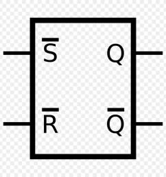 flipflop electronic circuit nand gate white black png [ 900 x 900 Pixel ]