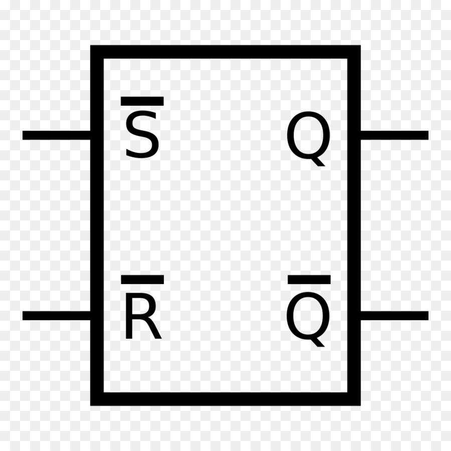 hight resolution of flipflop electronic circuit nand gate white black png