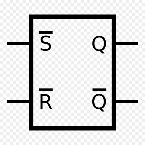small resolution of flipflop electronic circuit nand gate white black png