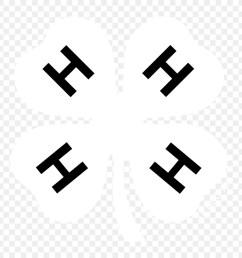 4 h four leaf clover white clover logo clip art others png download 1440 1440 free transparent fourleaf clover png download  [ 900 x 900 Pixel ]