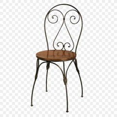 Wrought Iron Chair Sashes For Chairs No 14 Table Furniture Png Download 423