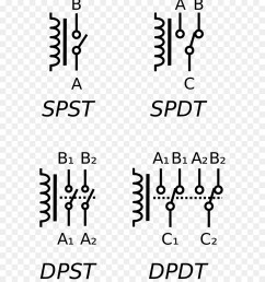 relay electronic symbol electrical switches text white png [ 900 x 1040 Pixel ]