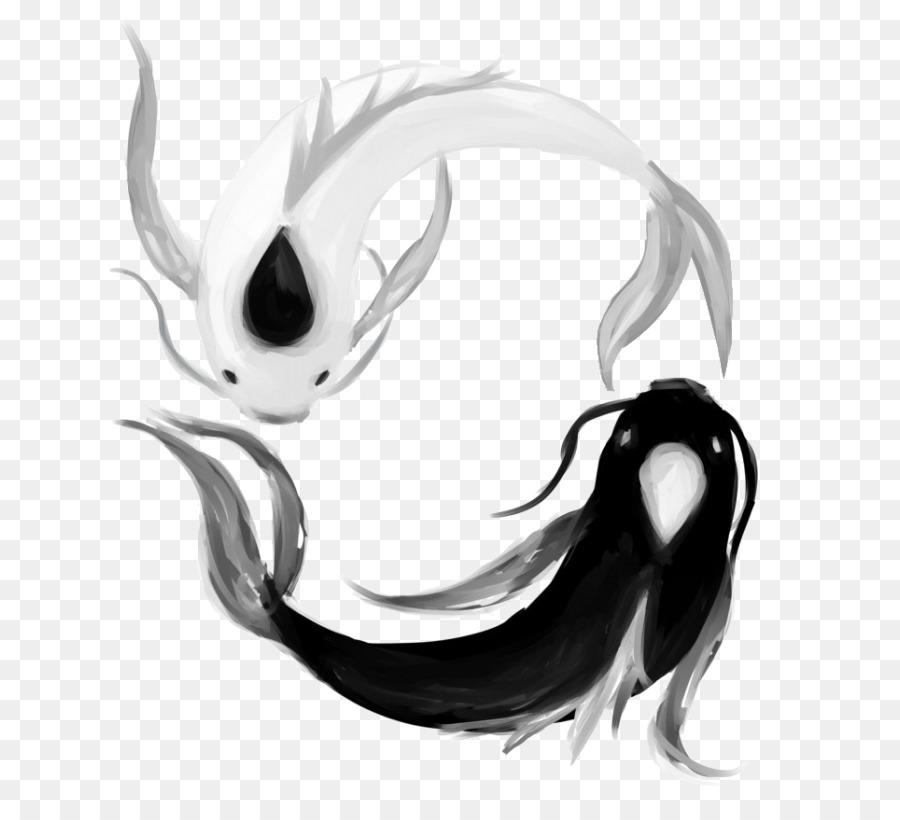 Koi Carp Yin Yang Tattoo