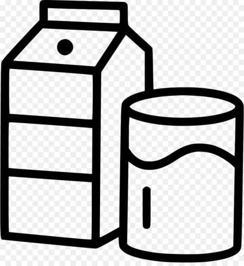 small resolution of milk milk carton kids carton black and white line png