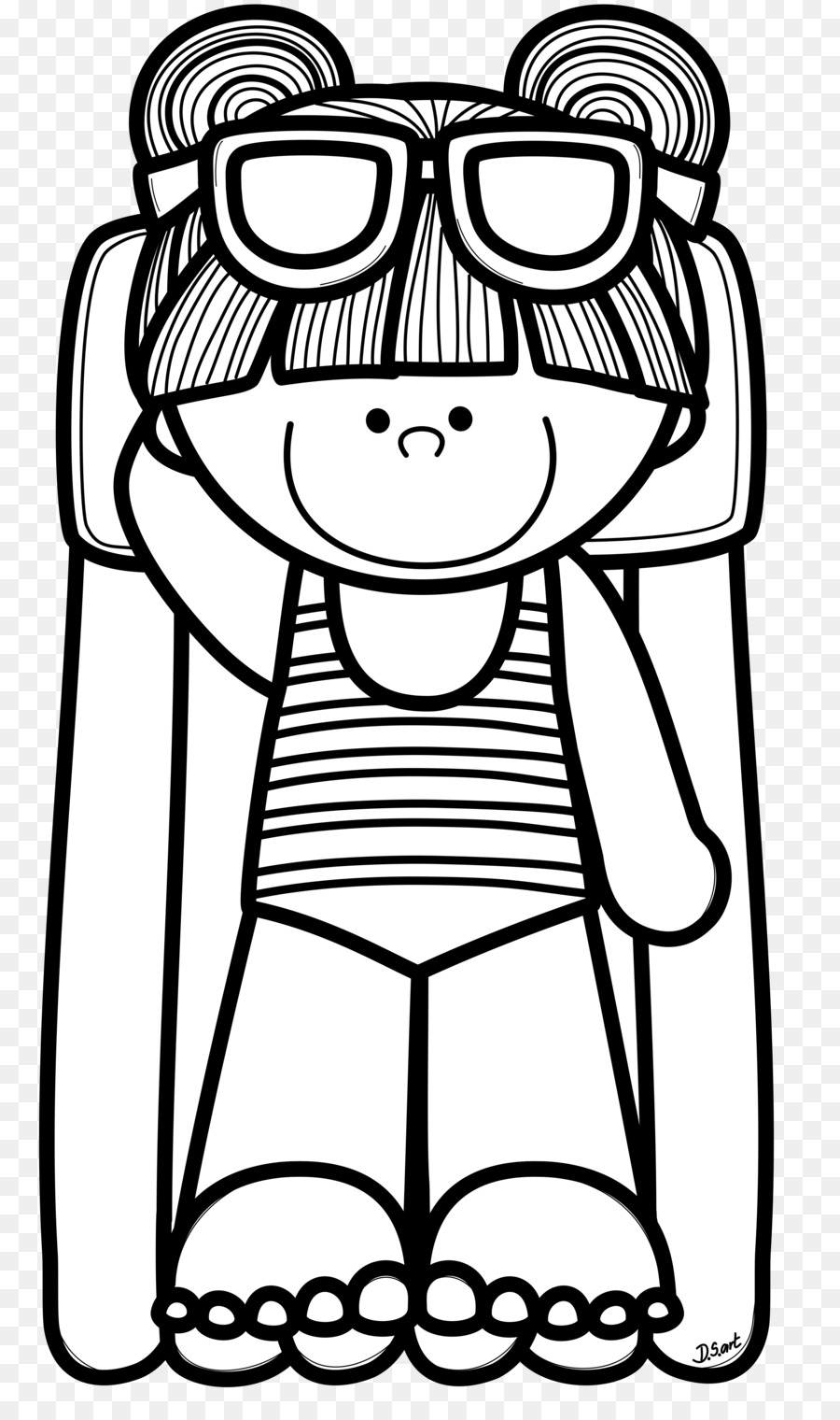 hight resolution of coloring book black and white color clothing png