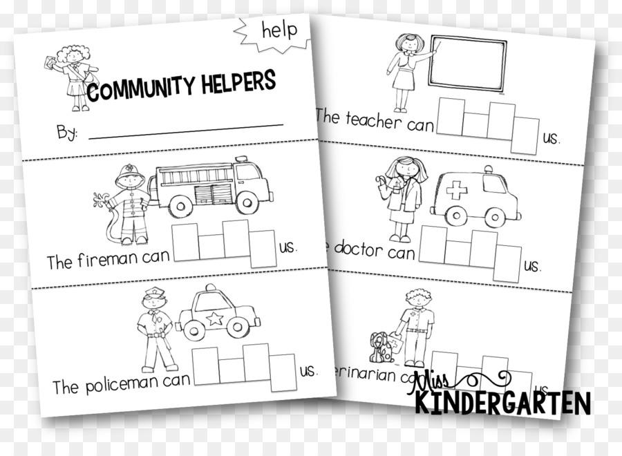 Lesson plan Community Helpers Kindergarten Pre-school